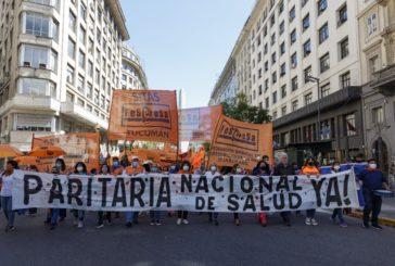GRAN MARCHA FEDERAL DE TRABAJADORXS DE LA SALUD EN RECLAMO DE PARITARIA NACIONAL